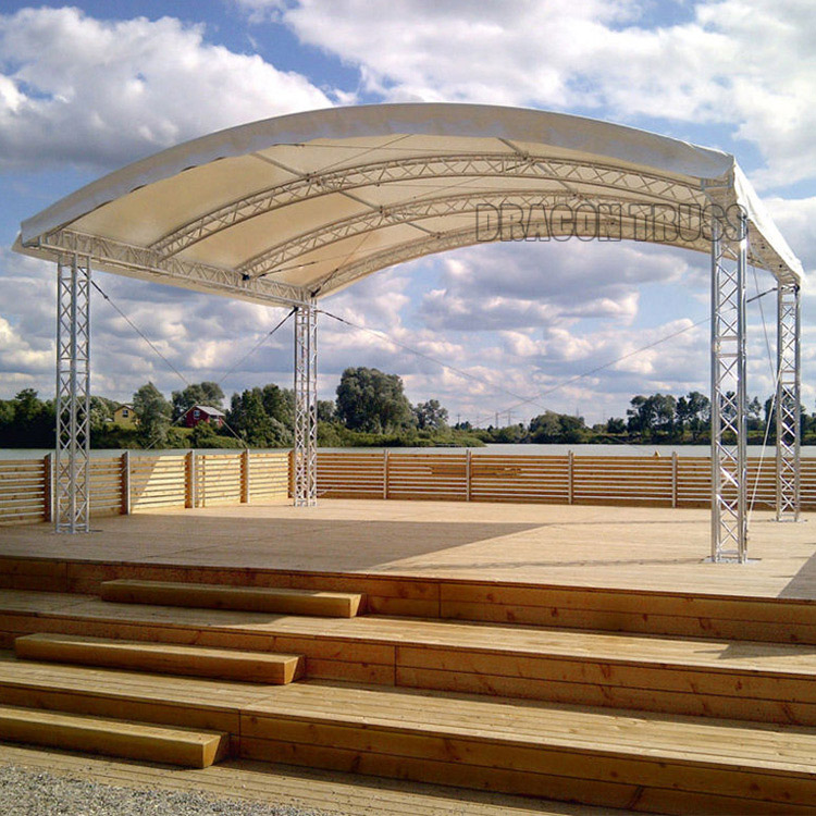 Aluminum Event Stage Ceiling Lighting Truss System For Sale