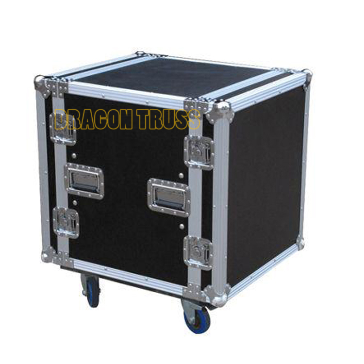 Professional 10u flight case
