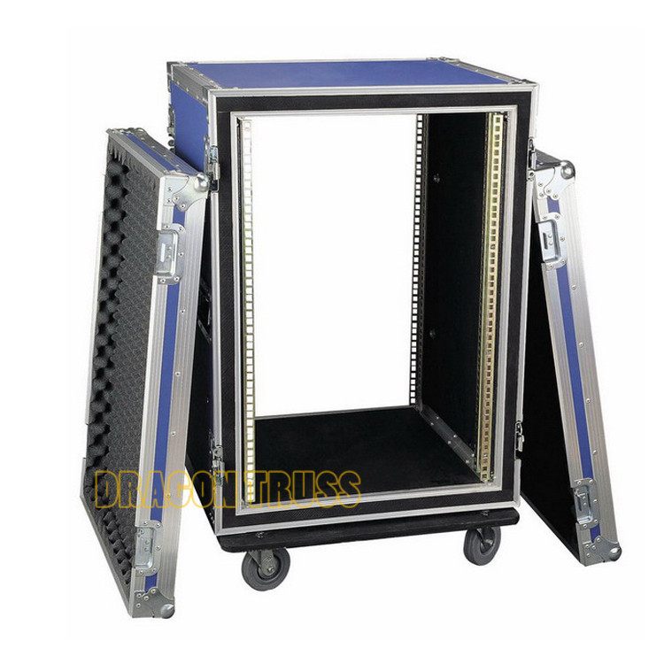 OEM/ODM service useful cable ramp dual plasma flight cases