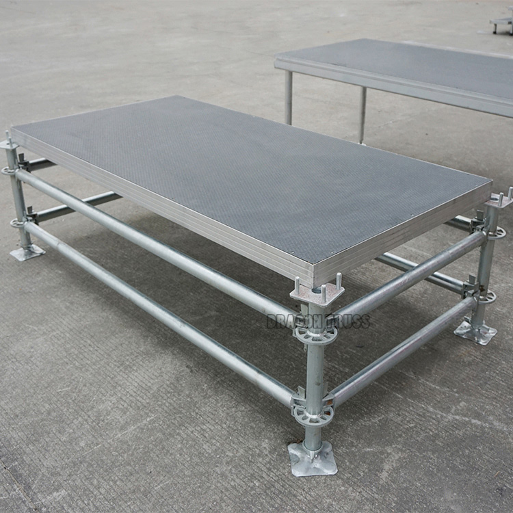 Best quality and low price personalized metal stage
