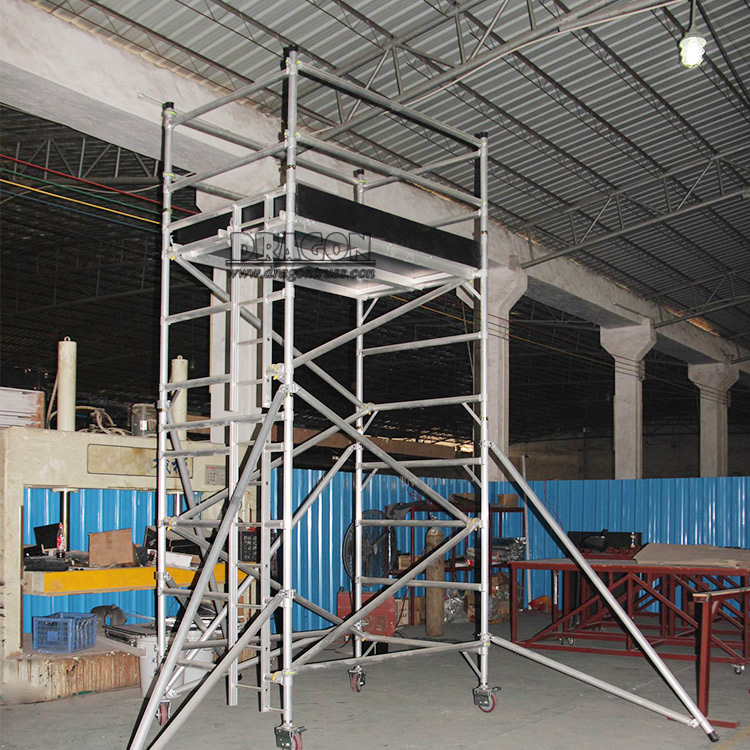 Wholesale Durable Mobile Adjustable Scaffold