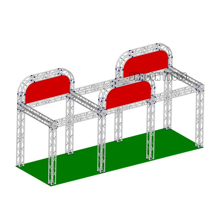 OEM manufacture roof truss exhibition truss