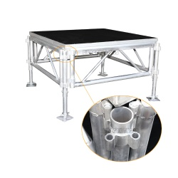 Dragon Truss Used Portable Stage easy movable