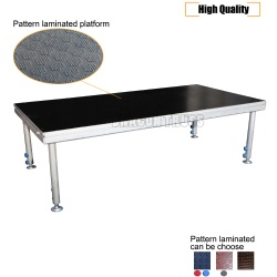 Low price wholesale modern platform stage