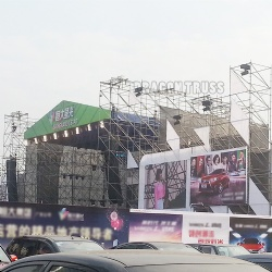 quick shipping portable exhibition truss display