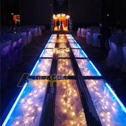 indoor portable transparent acrylic platform dance stage