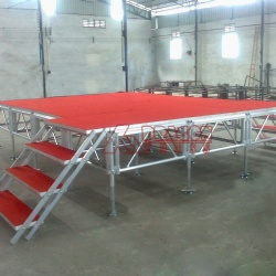 Hot China factory great loading portable event stage equipment for sale